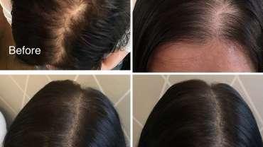 Hair tattoo for women